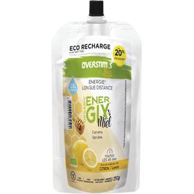 OVERSTIM.s Energix Organic Honey Bolsa Gel Líquido 250g, Lemon & Turmeric
